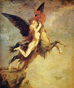 La Chimère, Gustave Moreau, 1868, Fogg Museum