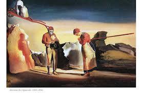 L'Angelus de Millet d'après Dali.