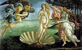La célèbrissime Naissance de Vénus de Botticelli
