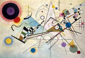 Composition 8, 1923, Guggenheim Museum, NY.