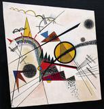 Dans le triangle noir, 1923, Guggenheim