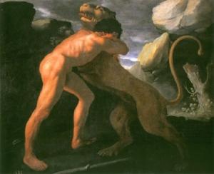Zurbaran, Hercule et Némée.