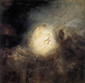 Undine giving the ring to Massaniello fisherman of naples. Joseph Turner