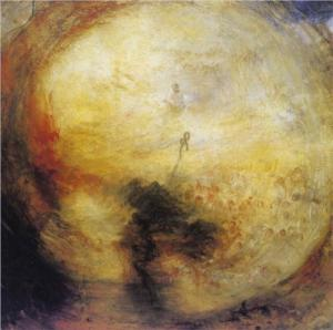 The morning after the deluge, Turner, 1843, Tate Gallery