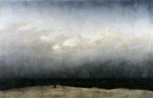 Casper David-Friedrich, Le Moine au bord de la mer