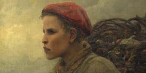 Le fils du pêcheur, (1881) Virginie Demont-Breton, première femme peintre à s'être installée à Wissant.